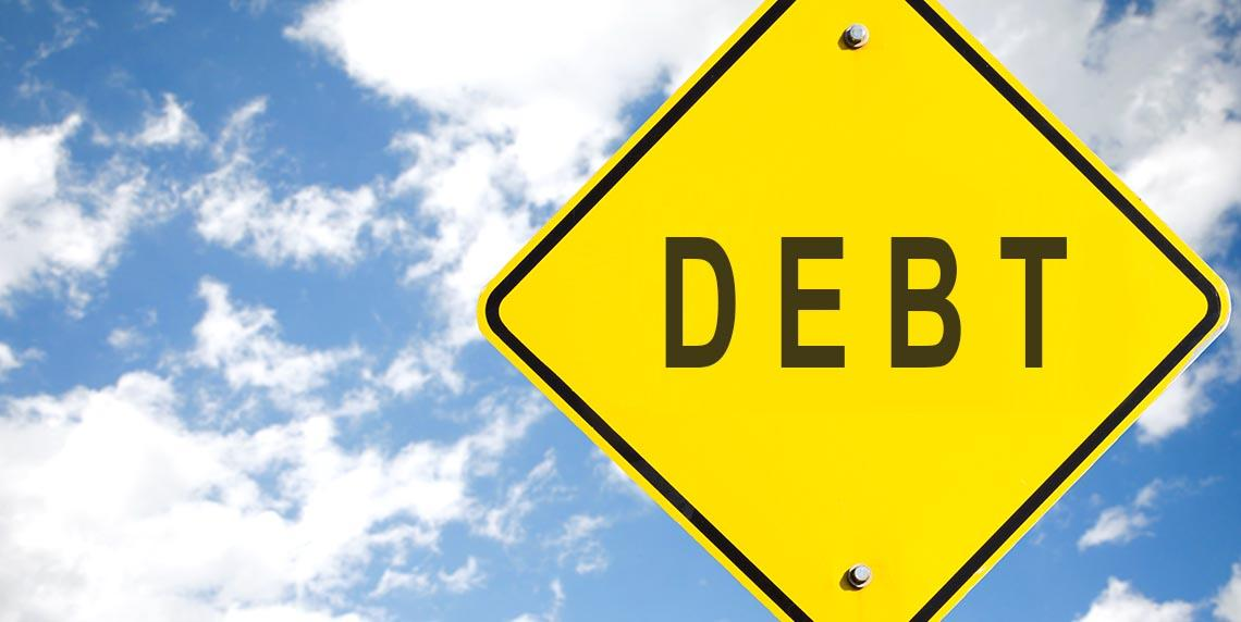 Get rid of your debt faster by making your repayments on time.